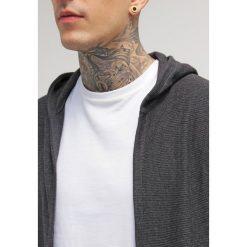 Swetry rozpinane męskie: YOURTURN Kardigan dark grey