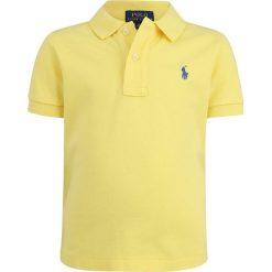 Polo Ralph Lauren CUSTOM TOPS Koszulka polo beekman yellow. Żółte t-shirty chłopięce Polo Ralph Lauren, z bawełny. Za 169,00 zł.