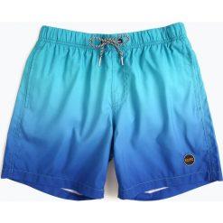 Shiwi - Męskie spodenki kąpielowe, niebieski. Niebieskie kąpielówki męskie Shiwi, l, w gradientowe wzory. Za 99,95 zł.