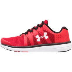 Under Armour MICRO FUEL Obuwie do biegania treningowe red. Czerwone buty do biegania damskie marki Under Armour, z materiału. Za 269,00 zł.