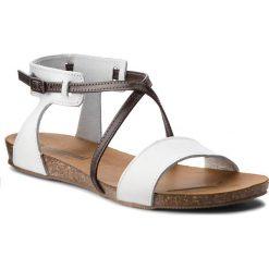 Sandały damskie: Sandały GINO ROSSI - Zira DN613M-TWO-BNBG-1137-0 00/92