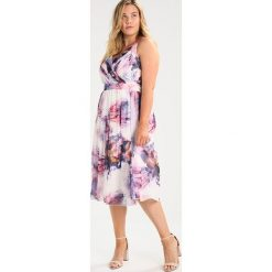 Sukienki hiszpanki: Little Mistress Curvy FLORAL  Sukienka letnia multi