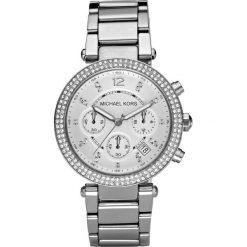 Zegarek MICHAEL KORS - Parker MK5353 Silver/Steel/Silver/Steel. Szare zegarki damskie Michael Kors. Za 1390,00 zł.