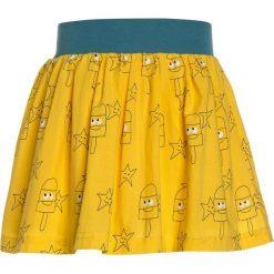 La Queue du Chat SKIRT Spódnica trapezowa sunny yellow. Żółte spódniczki dziewczęce La Queue du Chat, z bawełny, trapezowe. Za 179,00 zł.