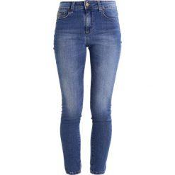 LOIS Jeans CORDOBA Jeans Skinny Fit double stone. Niebieskie jeansy damskie marki LOIS Jeans, z bawełny. Za 419,00 zł.