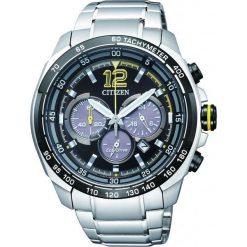 ZEGAREK CITIZEN Chrono CA4234-51E. Szare, analogowe zegarki męskie CITIZEN, sztuczne. Za 1090,00 zł.