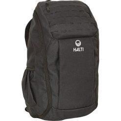 """Plecak """"Attitude 26"""" w kolorze czarnym - 27 x 48 x 18 cm. Czarne plecaki damskie Halti & Raiski, w paski. W wyprzedaży za 195,95 zł."""