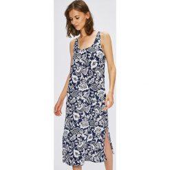 Lauren Ralph Lauren - Koszula nocna. Szare koszule nocne i halki Lauren Ralph Lauren, z aplikacjami, z bawełny. W wyprzedaży za 199,90 zł.