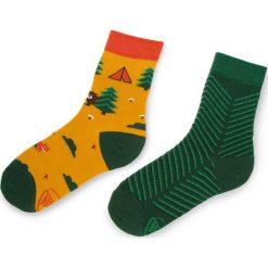 Skarpety Wysokie Unisex MANY MORNINGS - Scout Memory Brązowy Kolorowy. Czerwone skarpetki męskie marki Happy Socks, z bawełny. Za 29,00 zł.