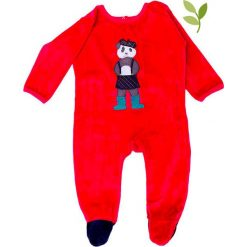 """Pajacyki niemowlęce: Śpioszki """"Fergie"""" w kolorze czerwonym"""
