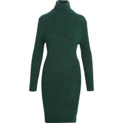 Sukienki: Zielona Sukienka Disconcerted