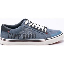 Camp David - Tenisówki. Szare tenisówki męskie marki Camp David, z gumy, na sznurówki. W wyprzedaży za 179,90 zł.