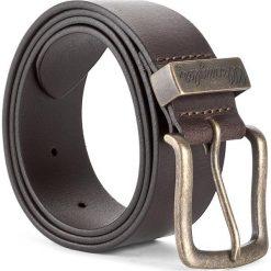 Pasek Męski WRANGLER - Metal Loop W0080US85 85 Brown. Brązowe paski męskie Wrangler, w paski, ze skóry. Za 109,00 zł.