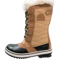 Sorel TOFINO II Śniegowce curry. Brązowe buty zimowe chłopięce Sorel, z materiału. W wyprzedaży za 324,35 zł.