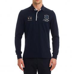 Koszulka polo w kolorze ciemnoniebieskim. Niebieskie koszulki polo GALVANNI, m. W wyprzedaży za 199,95 zł.