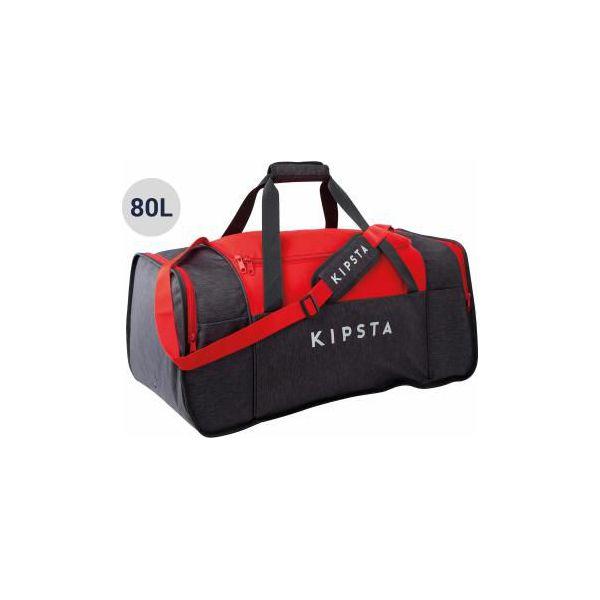 505991b33e188 Torba do sportów zespołowych Kipocket 80 L - Czarne torby męskie sportowe  KIPSTA