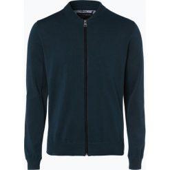Swetry rozpinane męskie: Nils Sundström – Kardigan męski, zielony
