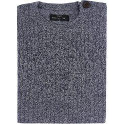 Sweter PIETRO W 15-51SR. Czarne swetry klasyczne męskie marki Giacomo Conti, m, z bawełny, z klasycznym kołnierzykiem. Za 229,00 zł.