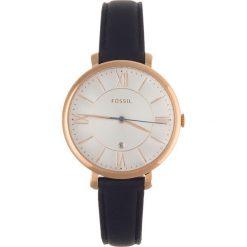 Zegarek FOSSIL - Jacqueline ES3843 Blue/Rose Gold. Różowe zegarki damskie marki Fossil, szklane. Za 479,00 zł.
