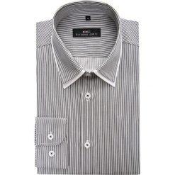 Koszula PATRIZIO Slim 15-03-18-K. Białe koszule męskie slim marki Giacomo Conti, m, z bawełny, z klasycznym kołnierzykiem. Za 169,00 zł.