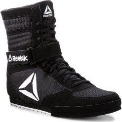 Buty Reebok - Boxing Boot-Buck CN4942 Black/White. Czarne buty do fitnessu damskie Reebok, z materiału. W wyprzedaży za 299,00 zł.