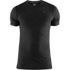Craft Koszulka Sportowa Męska Fuseknit Comfort Ss Black M. Czarne odzież termoaktywna męska Craft, m, w paski. Za 119,00 zł.