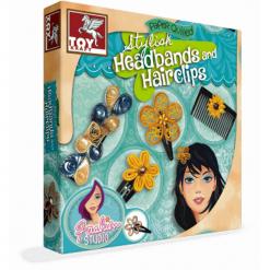 Toys Kraft Ozdoby do włosów - 39600. Brązowe ozdoby do włosów Art and Play. Za 34,99 zł.