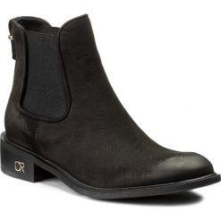 Sztyblety CARINII - B4074 360-000-PSK-C58. Czarne buty zimowe damskie Carinii, z materiału. W wyprzedaży za 269,00 zł.