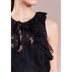Three Floor FLORENT Bluzka black. Czarne bluzki asymetryczne Three Floor, z materiału. W wyprzedaży za 563,40 zł.
