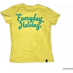 """Koszulka EVERYDAY HOLIDAY """"CORNSILLK MINT. Zielone bluzki damskie Pakamera, z bawełny. Za 79,00 zł."""