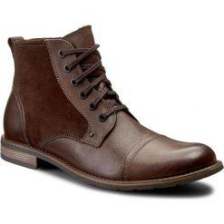 Kozaki GINO ROSSI - Aldo MTC870-S03-VV57-3740-F 92/89. Brązowe buty zimowe męskie marki Gino Rossi, ze skóry. W wyprzedaży za 299,00 zł.
