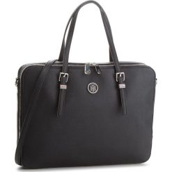 Torba na laptopa TOMMY HILFIGER - Honey Computer Bag AW0AW05645  002. Czarne torby na laptopa marki TOMMY HILFIGER, ze skóry ekologicznej. W wyprzedaży za 499,00 zł.