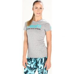 Reebok SPEEDWICK Tshirt z nadrukiem midgreyheather/soltea - 2