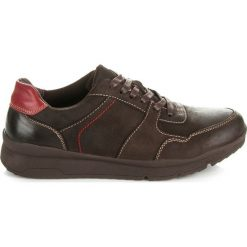 MĘSKIE OBUWIE SPORTOWE - odcienie brązu i beżu. Szare buty skate męskie New Age. Za 119,90 zł.