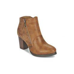 Botki damskie na zamek: Botki LPB Shoes  BALTIMORE