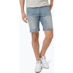 Review - Męskie bermudy jeansowe, niebieski. Niebieskie bermudy męskie marki Review. Za 159,95 zł.