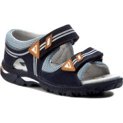 Sandały BARTEK - 16128-W28 Niebieski. Szare sandały męskie skórzane marki Blukids. W wyprzedaży za 159,00 zł.