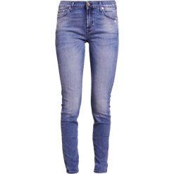 7 for all mankind Jeans Skinny Fit vintage mid. Niebieskie jeansy damskie relaxed fit 7 for all mankind, z bawełny. W wyprzedaży za 598,95 zł.