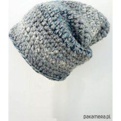 Czapka Hand Made No. 024 / beanie / szydło. Szare czapki damskie Pakamera. Za 99,00 zł.
