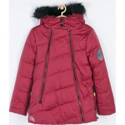 KURTKA. Czerwone kurtki chłopięce przeciwdeszczowe marki Winter Time, z bawełny. Za 219,90 zł.