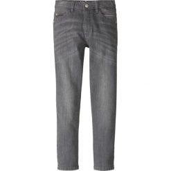 Dżinsy Slim Fit bonprix szary denim. Szare jeansy chłopięce bonprix. Za 59,99 zł.