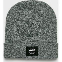 Vans - Czapka. Szare czapki zimowe męskie Vans, na zimę, z dzianiny. Za 119,90 zł.