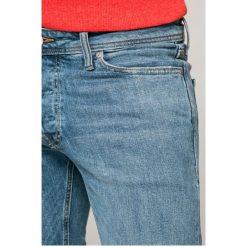 Jack & Jones - Jeansy Tim. Niebieskie jeansy męskie slim marki House, z jeansu. W wyprzedaży za 139,90 zł.