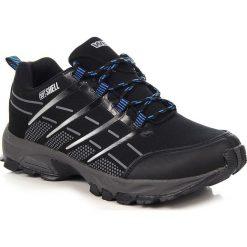 Buty trekkingowe męskie: Czarno niebieskie buty męskie trekkingowe Wishot