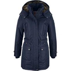 Płaszcz zimowy bonprix ciemnoniebieski. Niebieskie płaszcze damskie pastelowe bonprix, na zimę. Za 239,99 zł.