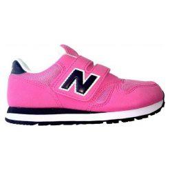 New Balance Buty kv373pvy. Brązowe buciki niemowlęce chłopięce marki New Balance, z materiału. W wyprzedaży za 155,00 zł.