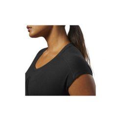 T-shirty z krótkim rękawem Reebok Sport  Koszulka Workout Ready Supremium 2.0. Czarne bluzki sportowe damskie Reebok Sport, l, z krótkim rękawem. Za 99,95 zł.