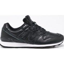 New Balance - Buty WR996JV. Czarne buty sportowe damskie New Balance, z materiału. W wyprzedaży za 399,90 zł.