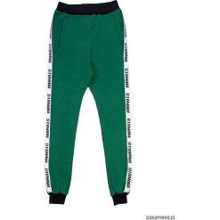 Spodnie dresowe damskie: green pants