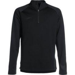 Nike Performance DRY SQAD DRILL Bluza black/white/black. Czarne bluzy chłopięce marki Nike Performance, z materiału. Za 199,00 zł.